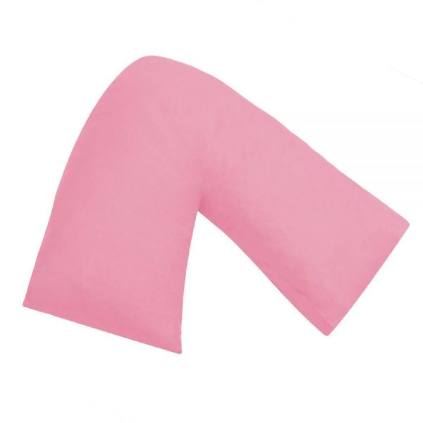 V Shaped Pillowcase Pregnancy Nursing Maternity Orthopedic Back Support Cover