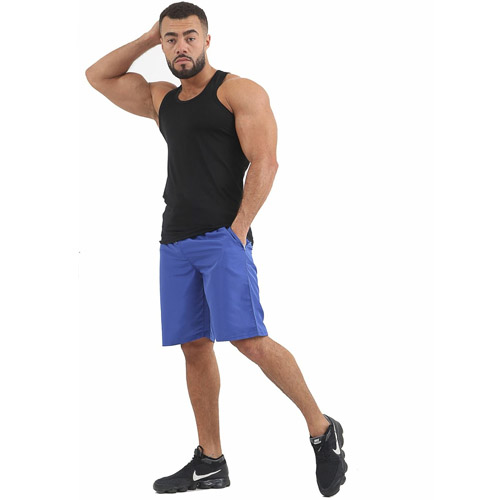 Mens Vest and Short Swimwear and Regular Fit Cotton Vest Top With Short Full Set