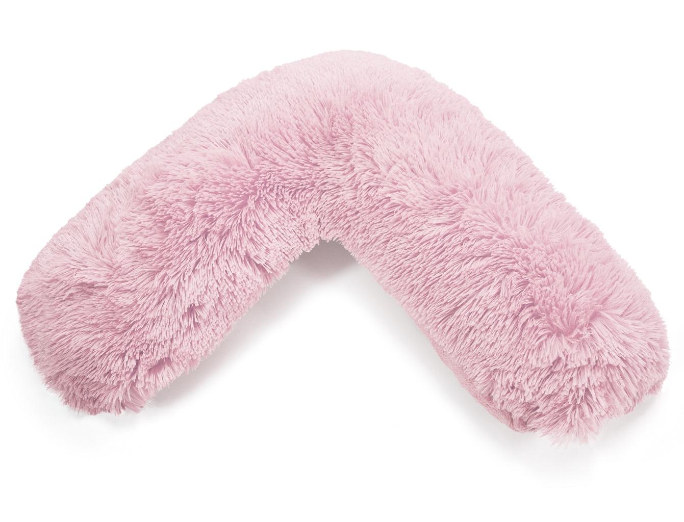 TEDDY CUDDLES V SHAPED Neck Back Pillow Cushion Case Pregnancy V Cover Only