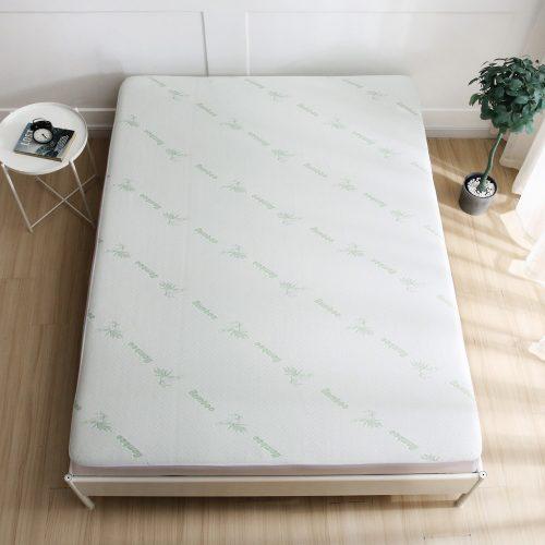 bamboo mattress topper protector