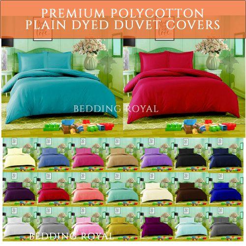 PolyCotton Duvet Cover Set