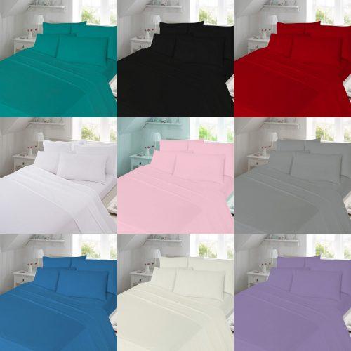 Flannelette Flat Bed Sheet